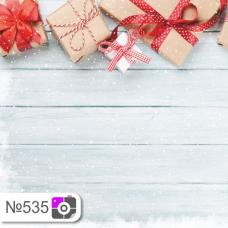 Фотофон Подарки и серые доски