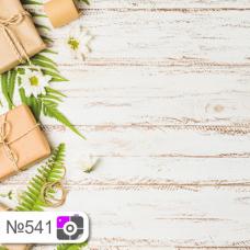 Фотофон Подарки и потертые белые доски