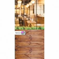 Фотофон Кафе и коричневые доски