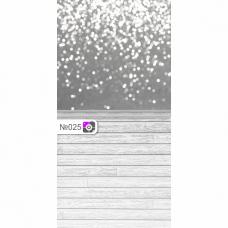 Фотофон Белые блики на сером фоне и серые доски