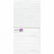Фотофон Белый кирпич и белые доски