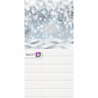 Фотофон Снежинки и белые доски
