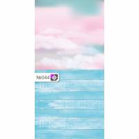 Фотофон Розовые облака и голубые доски
