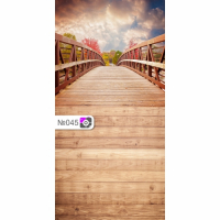 Фотофон Мост и коричневые доски
