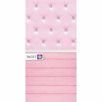 Фотофон Розовая оббивка и розовые доски