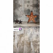 Фотофон Звезда и серый бетонный пол