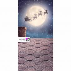 Фотофон Санта Клаус везет подарки