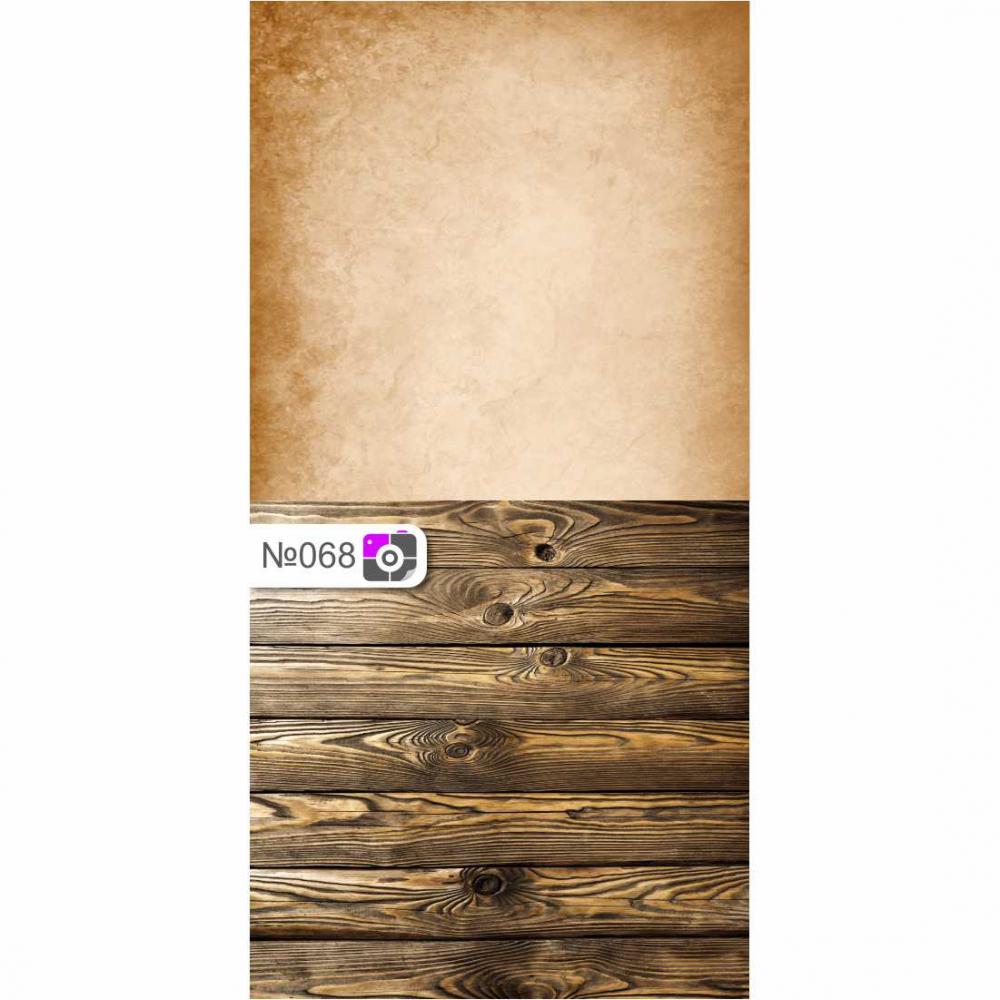 Фотофон Фреска и коричневые доски