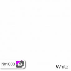 Фотофон Белый однотонный